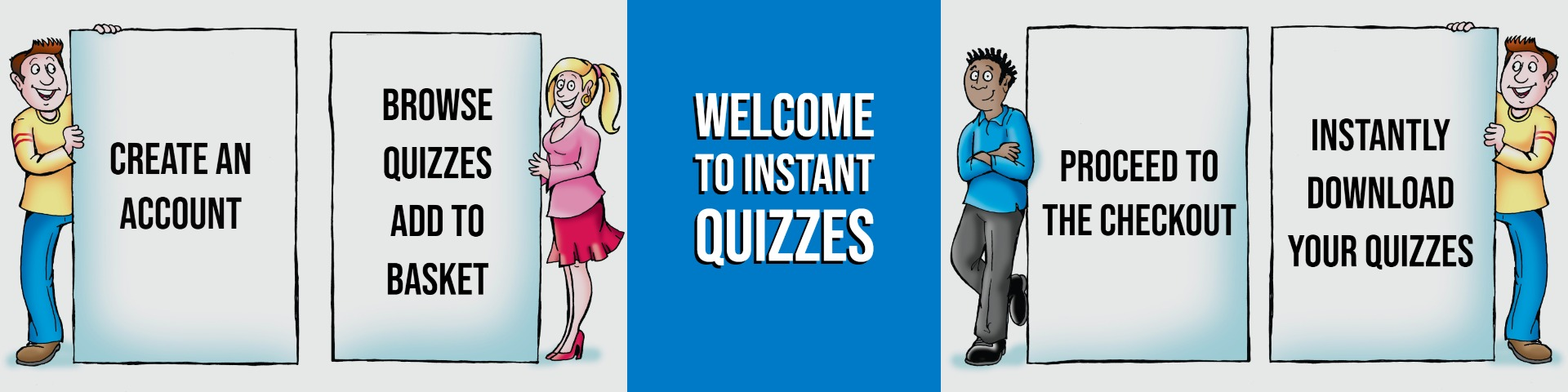 Welcome to Instant Quizzes - the UK's leading pub quiz compilers