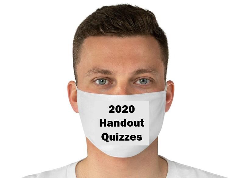 2020 Handout Quizzes