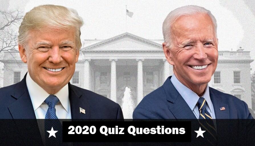 2020 Quiz Questions