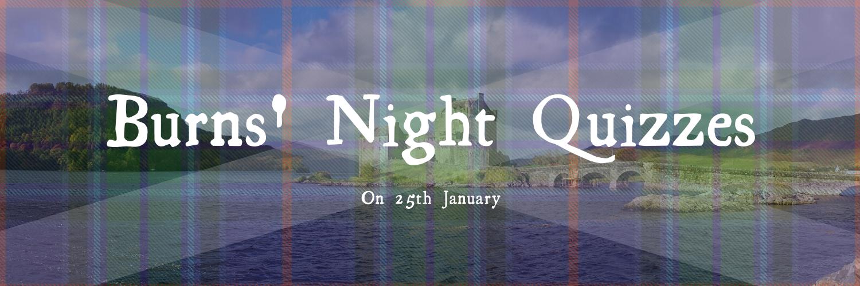 Burns Night Quizzes