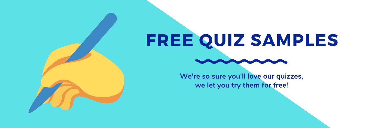 Free Quiz Samples