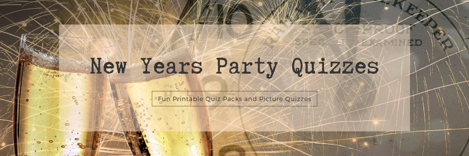 New Year Party Quizzes