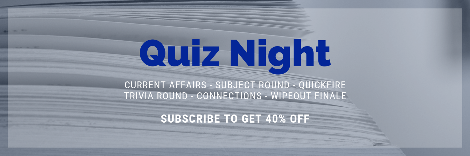 Quiz Night - Pay Monthly