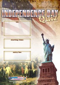 Free Independence Day Quiz Poster