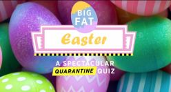 Easter Themed Virtual Quiz (Mixed 50 Questions)