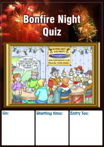 Free Bonfire Night Quiz Poster