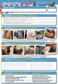 Queen Elizabeth 2 handout quiz