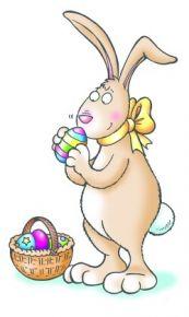 Easter Bunnies - E012