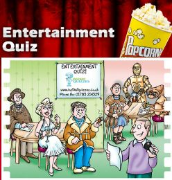 Virtual Entertainment Quiz Night (Mixed 50 Questions)
