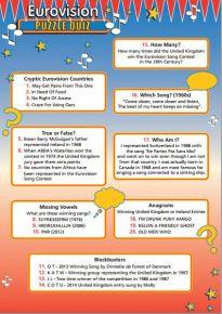 Eurovision Puzzle Quiz - HOEPQ