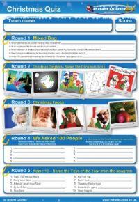 Christmas Handout Quiz 3