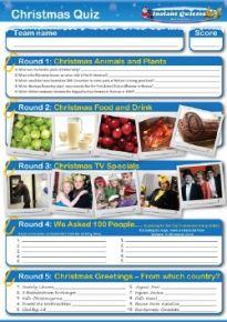 Christmas Handout Quiz 5