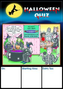 Free Halloween Quiz Poster