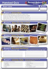 Handout Quiz 141