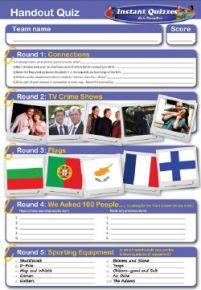 Handout Quiz 151