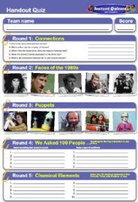 Handout Quiz 204