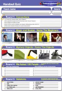 Handout Quiz 207
