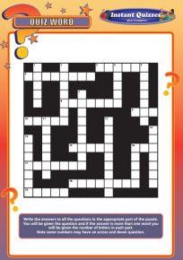 Handout Quiz 213 - Quiz Word