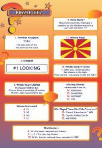 Handout Quiz 234 - Puzzle Quiz