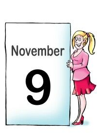 On This Day - 9th November