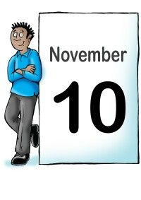 On This Day - 10th November
