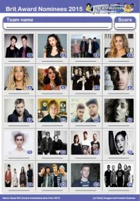The BRITs 2015 Picture Quiz - PR1435