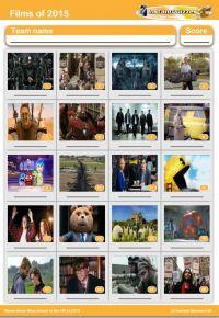 Films of 2015 picture quiz - PR1517