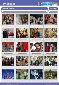 TV of 2015 picture quiz - PR1519