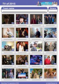 TV of 2015 picture quiz - PR1520