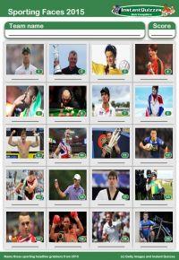 2015 Sport picture quiz - PR1524