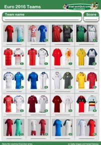 Euro 2016 Strips Picture Round - PR1582