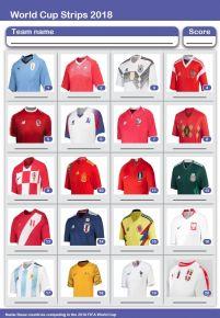World Cup Strips Picture Quiz - PR1835