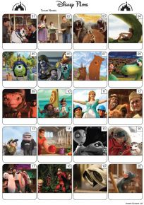 Disney Bumper Quiz