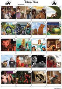Disney Films Picture Quiz - PR1977