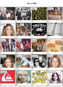 Pic 'n' Mix Picture Quiz - PR1993