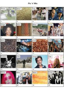 Pic 'n' Mix Picture Quiz - PR1995