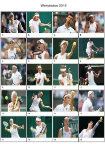 Wimbledon 2019 Picture Quiz - PR1996