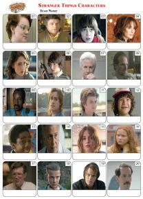 Stranger Things Picture Quiz - PR1999