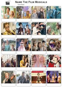 Film Musicals Picture Quiz - PR2000
