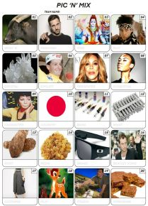 Pic 'n' Mix Picture Quiz - PR2005