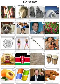 Pic 'n' Mix Picture Quiz - PR2008