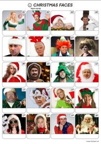 Christmas Faces - PR2022