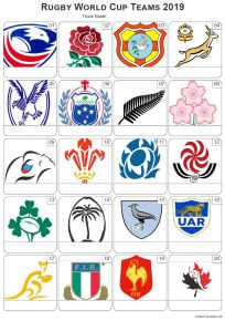 Rugby World Cup 2019 Picture Quiz - PR2026