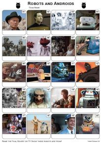 Robots and Androids Picture Quiz - PR2033