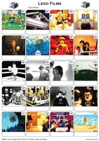 Lego Movies Picture Quiz - PR2036
