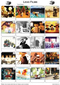 Lego Movies Picture Quiz - PR2037