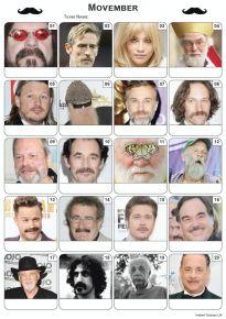 Movember Faces - PR2038