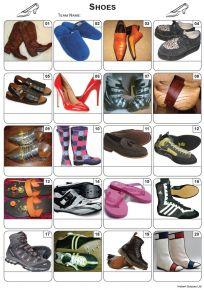 Shoes Picture Quiz - PR2043
