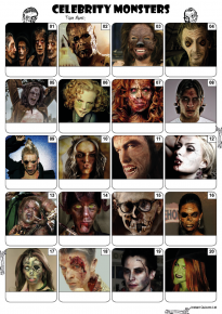 Celebrity Monsters Picture Quiz - PR2049