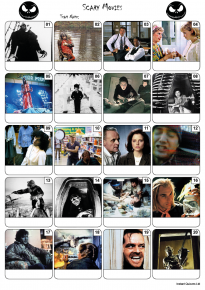 Scary Movies Picture Quiz - PR2064